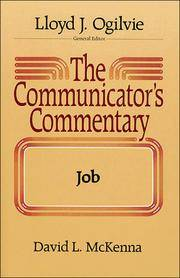 The Communicator's Commentary:  Job