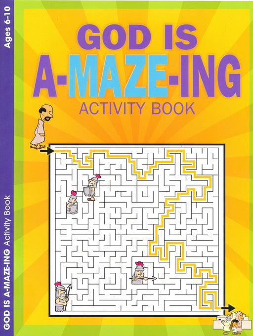 God is A-Maz-Ing Color & Activity Book