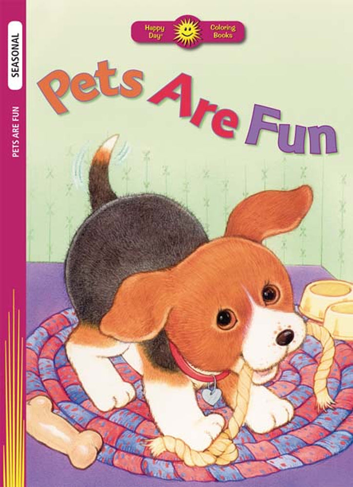 Pets Are Fun Coloring Book