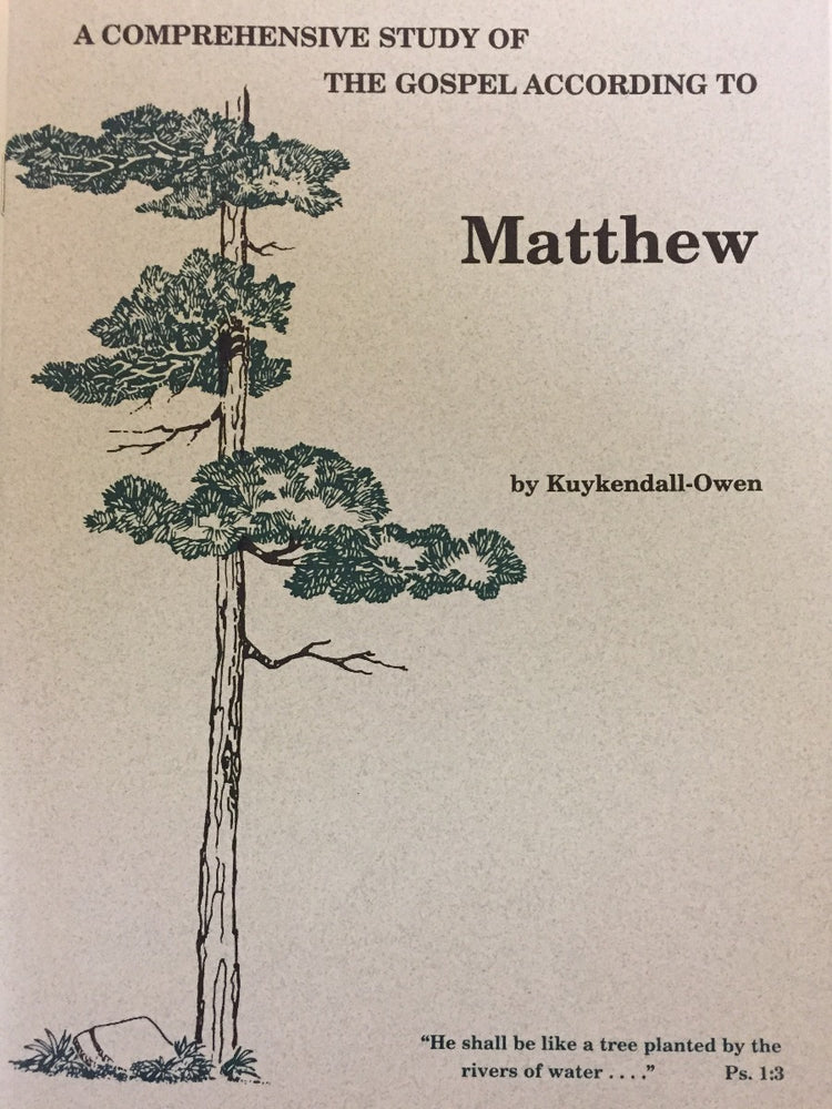 A Comprehensive Study of Matthew