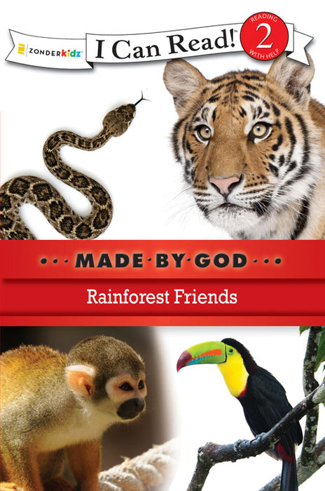 Rainforest Friends - I Can Read!