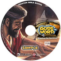 The Bible is God's Word - Digging for Answers VBS Sample CD