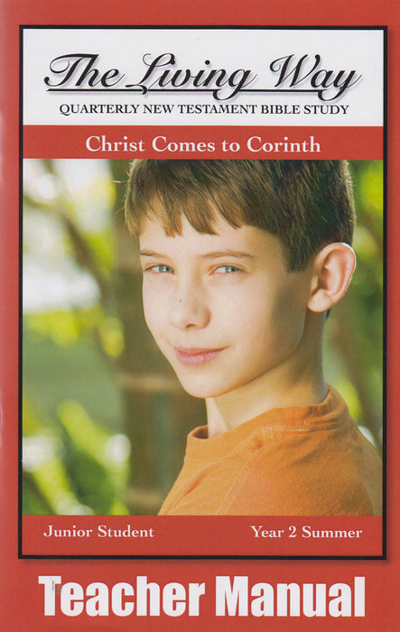 Junior 2-4 Manual - Christ Comes to Corinth