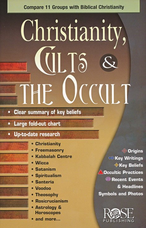 Christianity, Cults & the Occult Pamphlet