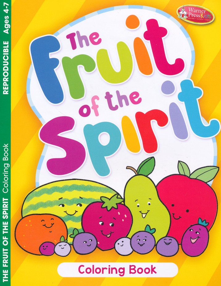 The Fruit of the Spirit Coloring Book