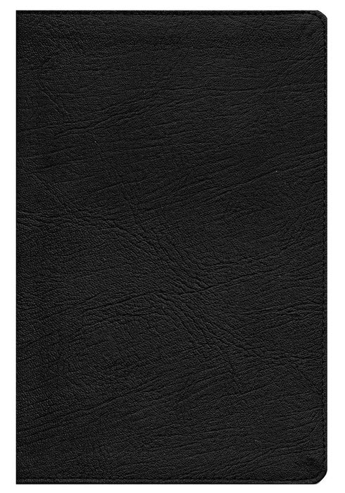 Black Genuine Leather Cover