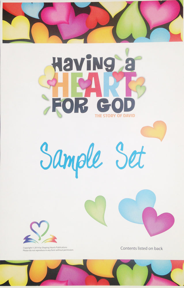 SH VBS Sample Kit 3 - Having a Heart For God: The Story of David