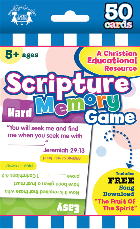 Scripture Memory Game Flash Cards