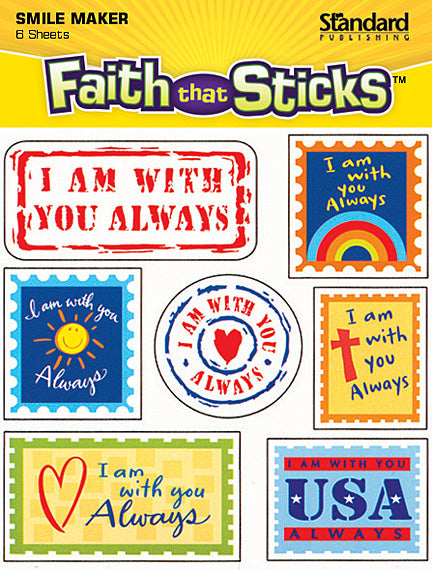 I Am With You Always Stickers