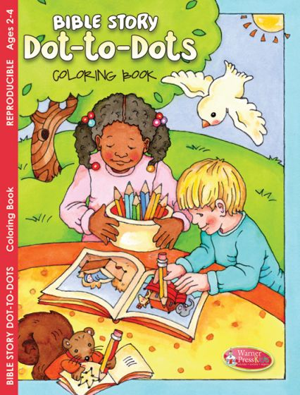 Bible Story Dot-to-Dots Coloring and Activity Book
