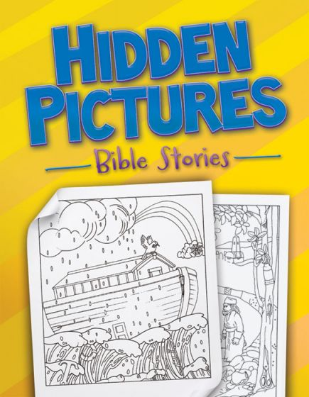 Hidden Pictures Bible Stories Coloring & Activity Books