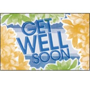 Postcard Get Well Soon