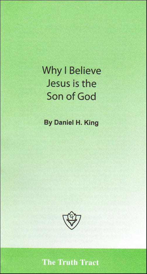 Why I Believe Jesus Is The Son God