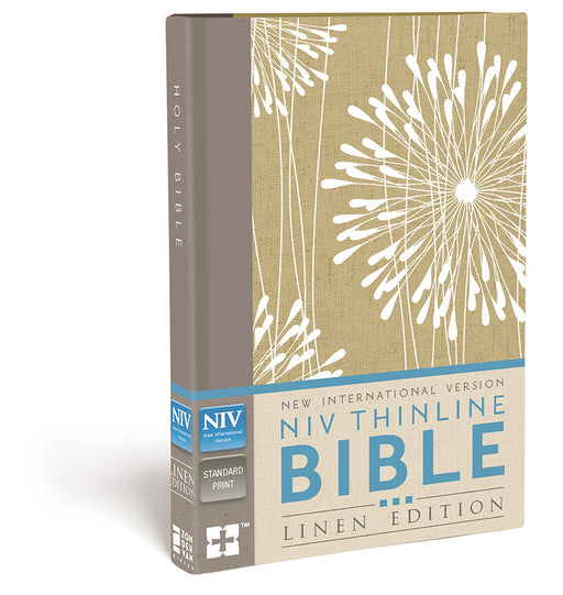 NIV Thinline Bible Linen Edition Hardback