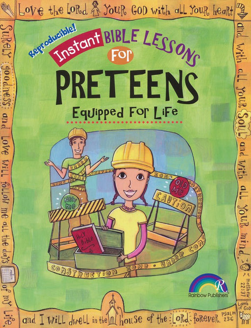 Instant Bible Lessons for Preteens-Equipped for Life