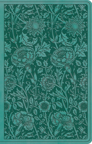 Teal Floral TruTone Cover