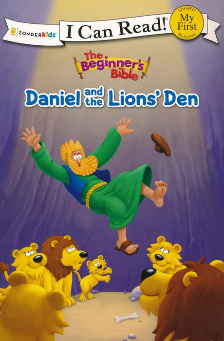 Daniel and the Lions - I Can Read Book