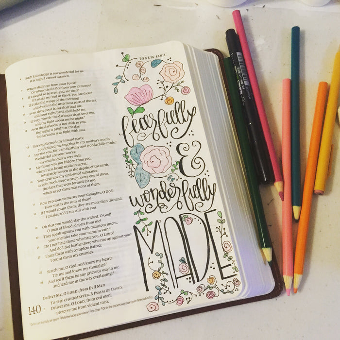 Sample: Bible Journaling