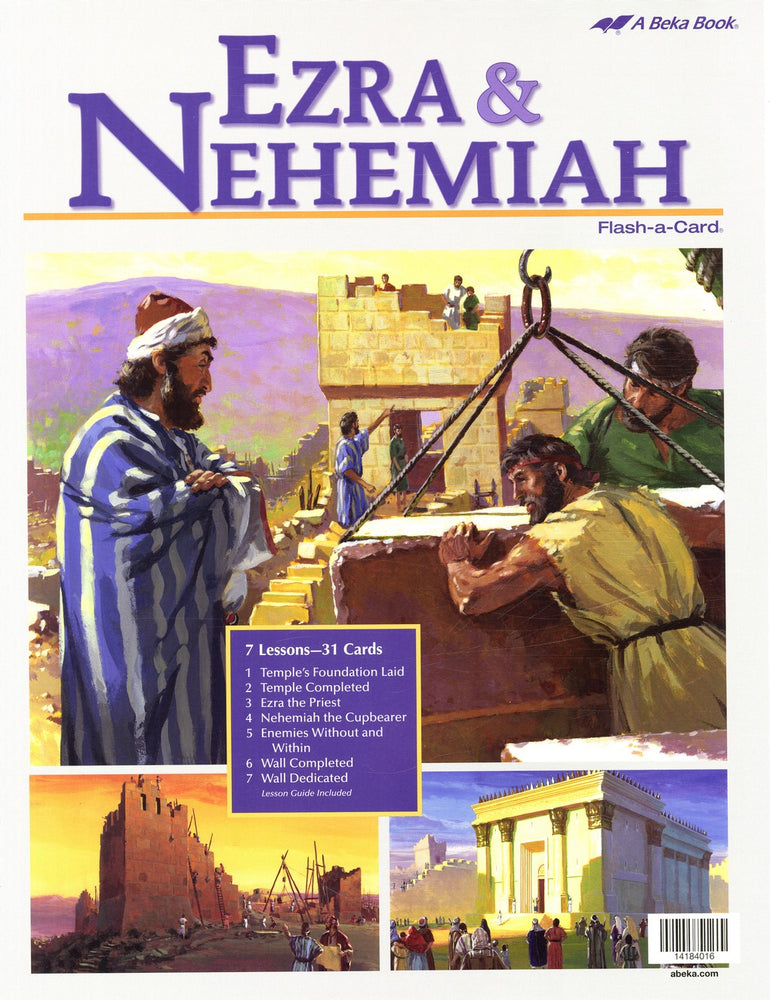 Ezra and Nehemiah - A Beka Flash-A-Cards