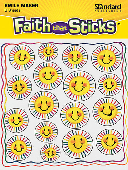 Sunbeam Smiles Stickers
