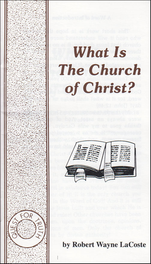What Is Church of Christ?