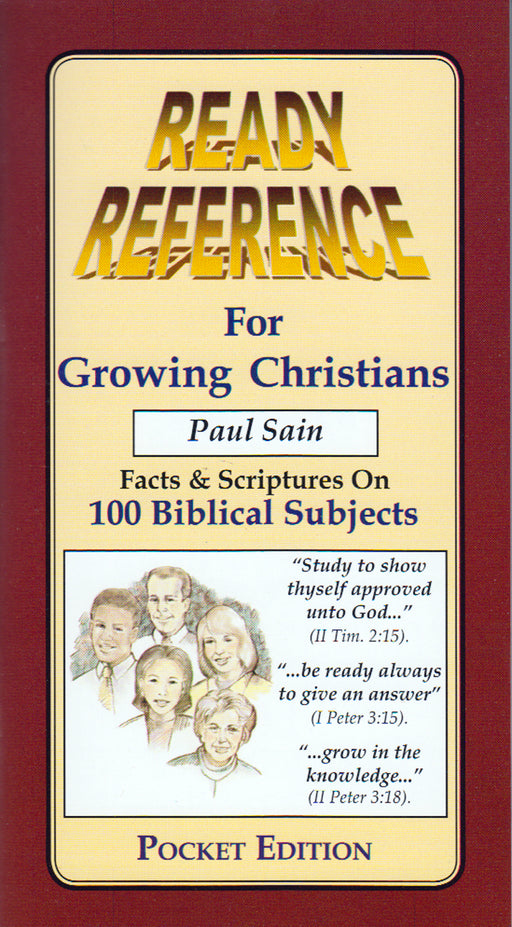 Ready Reference for Growing Christians - Pocket Edition English