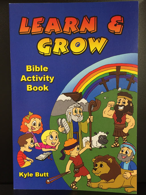 Learn and Grow: Bible Activity Book