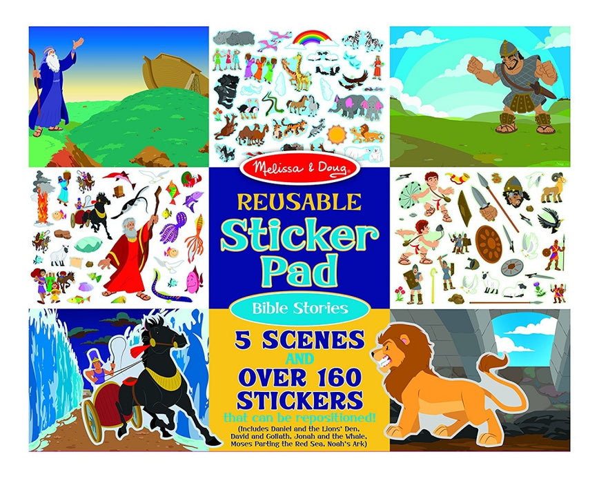 Reusable Sticker Pad Bible Stories