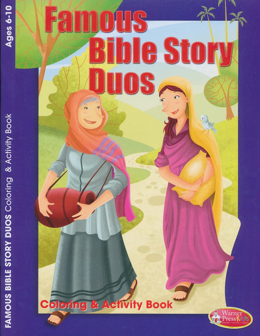 Famous Bible Story Duos Coloring & Activity Book