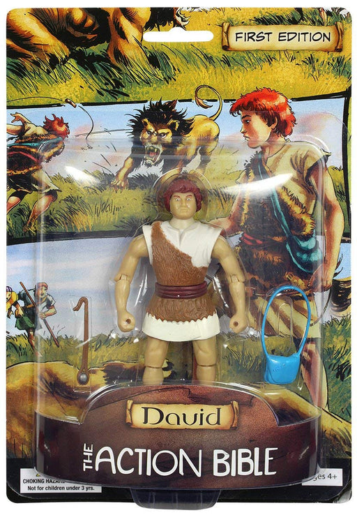 David - The Action Bible Figurine