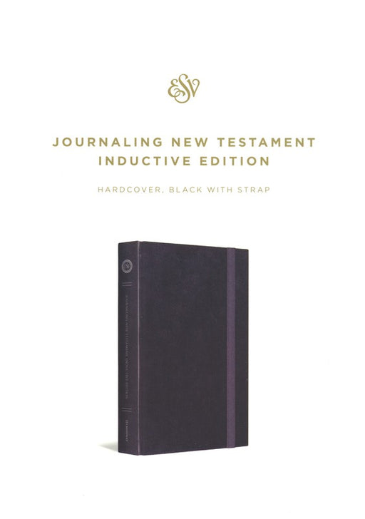 ESV Journaling New Testament Inductive Edition Black HB