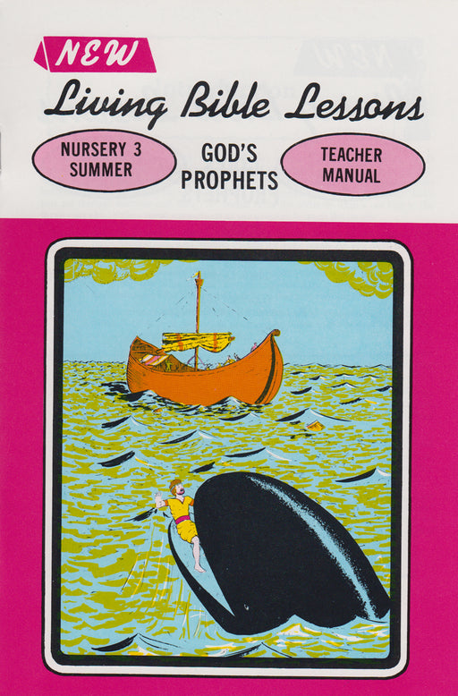 NURSERY 3-4 MAN - God's Prophets