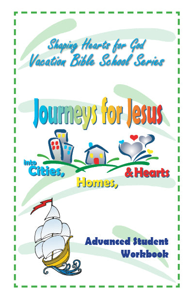 Journeys for Jesus  Students wkbk Advanced (Teen)