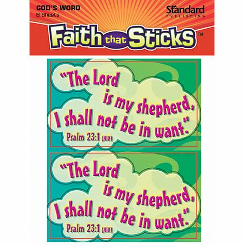 Psalm 23:1 Stickers