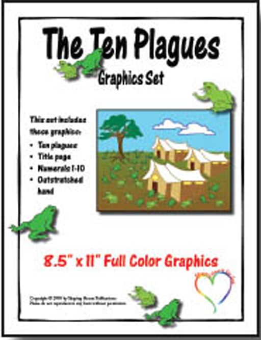 Ten Plagues Graphics Set Shaping Hearts for God