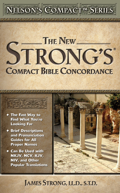 New Strong's Compact Bible Concordance - pb