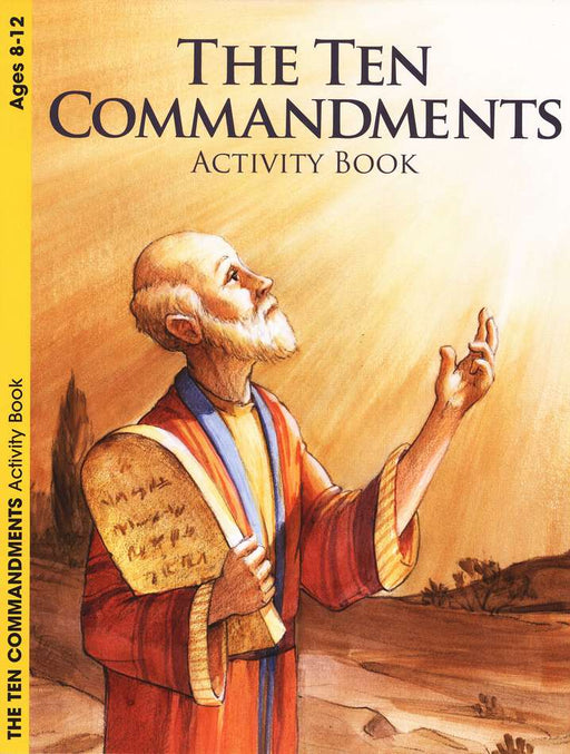 Ten Commandments  Activity Book