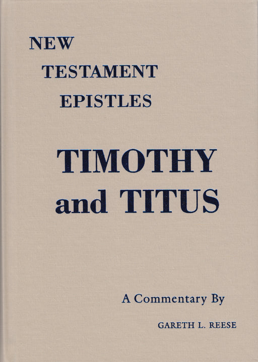 Timothy and Titus