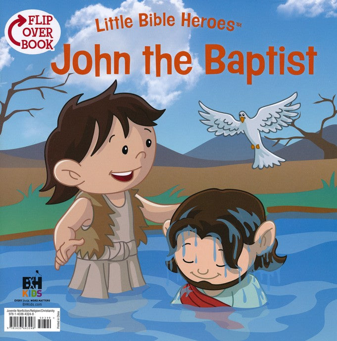 Elijah/John the Baptist Flip-Over Book