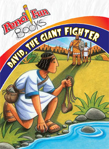 David the Giant Fighter Pencil Fun Book