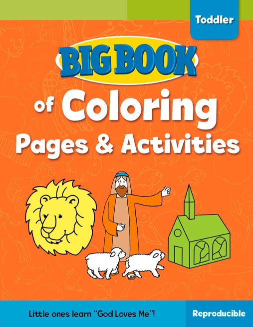 Big Book of Coloring Pages & Activities Toddlers
