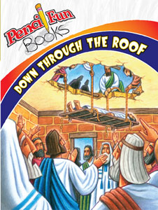 Down Through the Roof Pencil Fun Book
