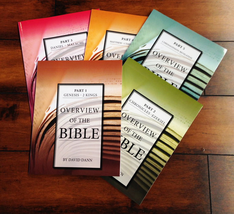 Overview of the Bible Workbooks Set (Parts 1-5)