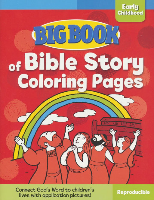 Big Book of Bible Story Coloring Pages for Early Childhood