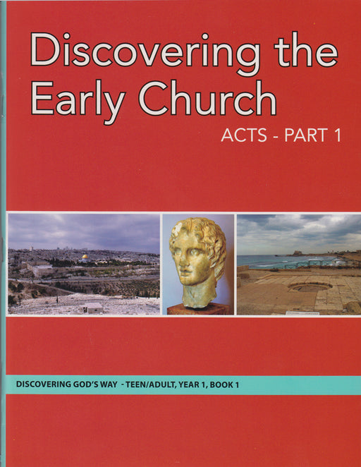 Discovering the Early Church Acts  pt 1