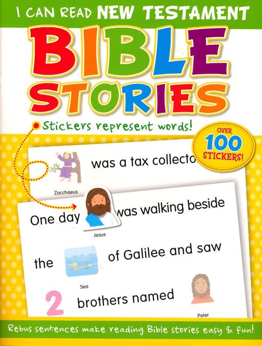 I Can Read New Testament Bible Stories (sticker book)