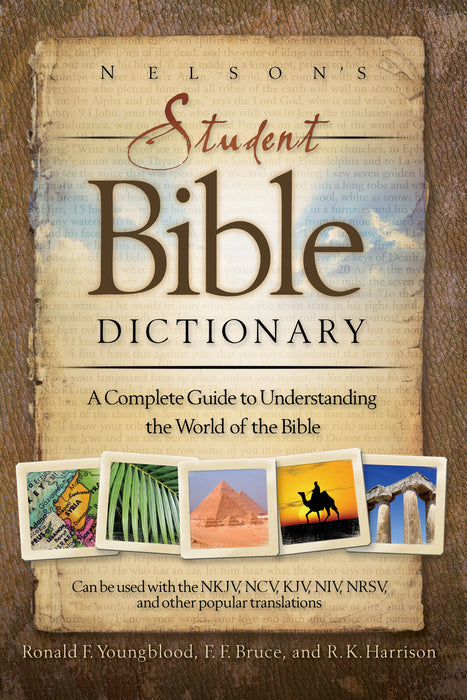 Nelson's Student Bible Dictionary PB