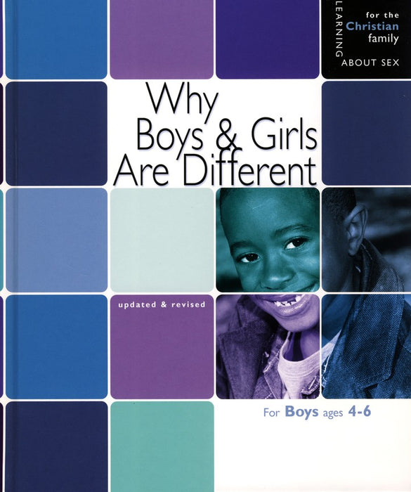 Why Boys and Girls Are Different - Boys Edition Ages 4-6 - Learning About Sex Series