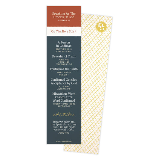 Holy Spirit Bookmark