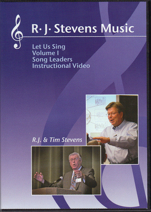 Let Us Sing Volume 1 - Song Leaders Instructional DVD Set